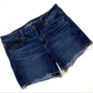 American Eagle Midi Denim Women's Shorts Size 10